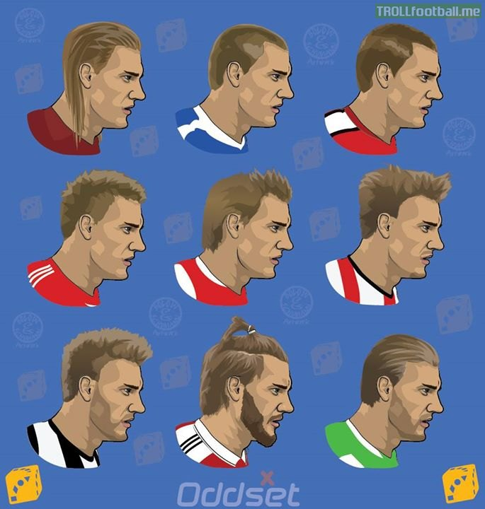 The Evolution of Lord Bendtner!