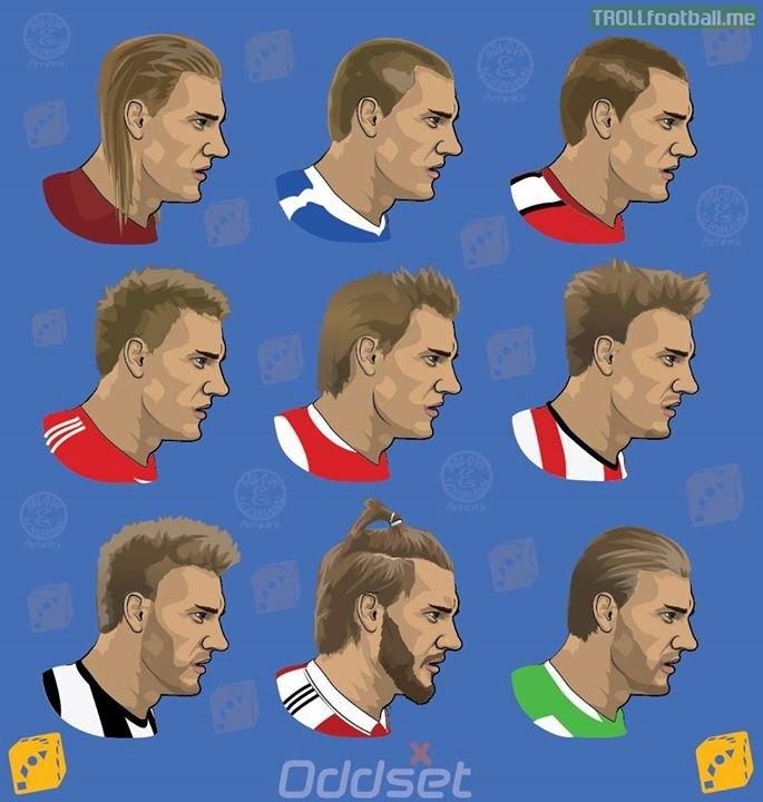 The Evolution of Lord Bendtner!