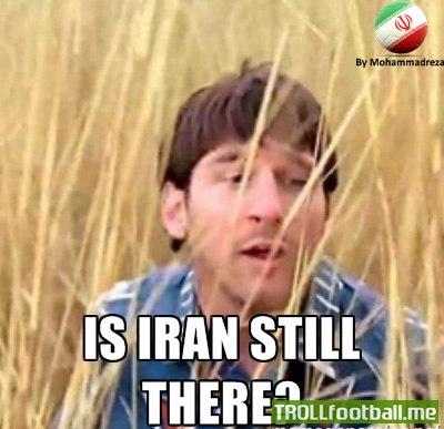 Is Iran still there?