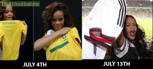 Rihanna Loyalty Level: Zlatan Ibrahimovic