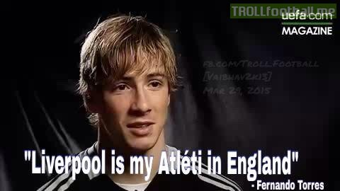 Torres : Liverpool is my Atleti in England