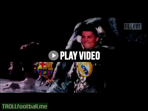 Cristiano Ronaldo reaction after Barcelona win Champion League 2015
