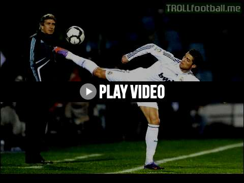 Cristiano Ronaldo - backheel magic goal and skills